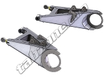 TZ_600 TRAILING ARM KIT