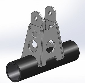 12379  TOWER MOUNT; AXLE