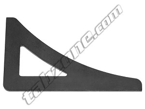 "12252 - 1/8"" THICK, 90 DEGREE, UNEQUAL LENGTH GUSSETS"